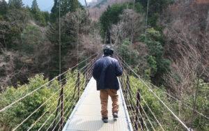 山梨県道志村へ行ってきました!
