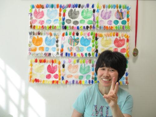 新しい折り鶴の作品